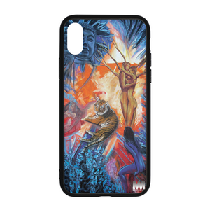 Buddah Tiger Fire iPhone X Case