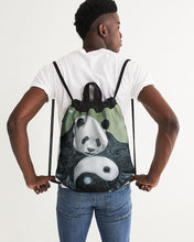 Load image into Gallery viewer, Morphed Panda Canvas Drawstring Bag