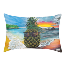 Load image into Gallery viewer, Pineapple Daze Queen Pillow Case