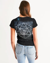Load image into Gallery viewer, moon rock meditation womens shirt Women's Tee