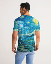 Load image into Gallery viewer, Morphed Starry Night TShirt Unisex Tee