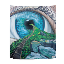 "Load image into Gallery viewer, Envision Your Path Tapestry 51""x60"""