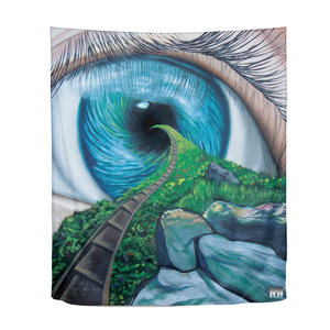 "Envision Your Path Tapestry 51""x60"""