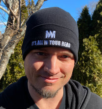 "Load image into Gallery viewer, ""It's All In Your Head"" Cuffed Beanie"
