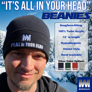 """It's All In Your Head"" Cuffed Beanie"