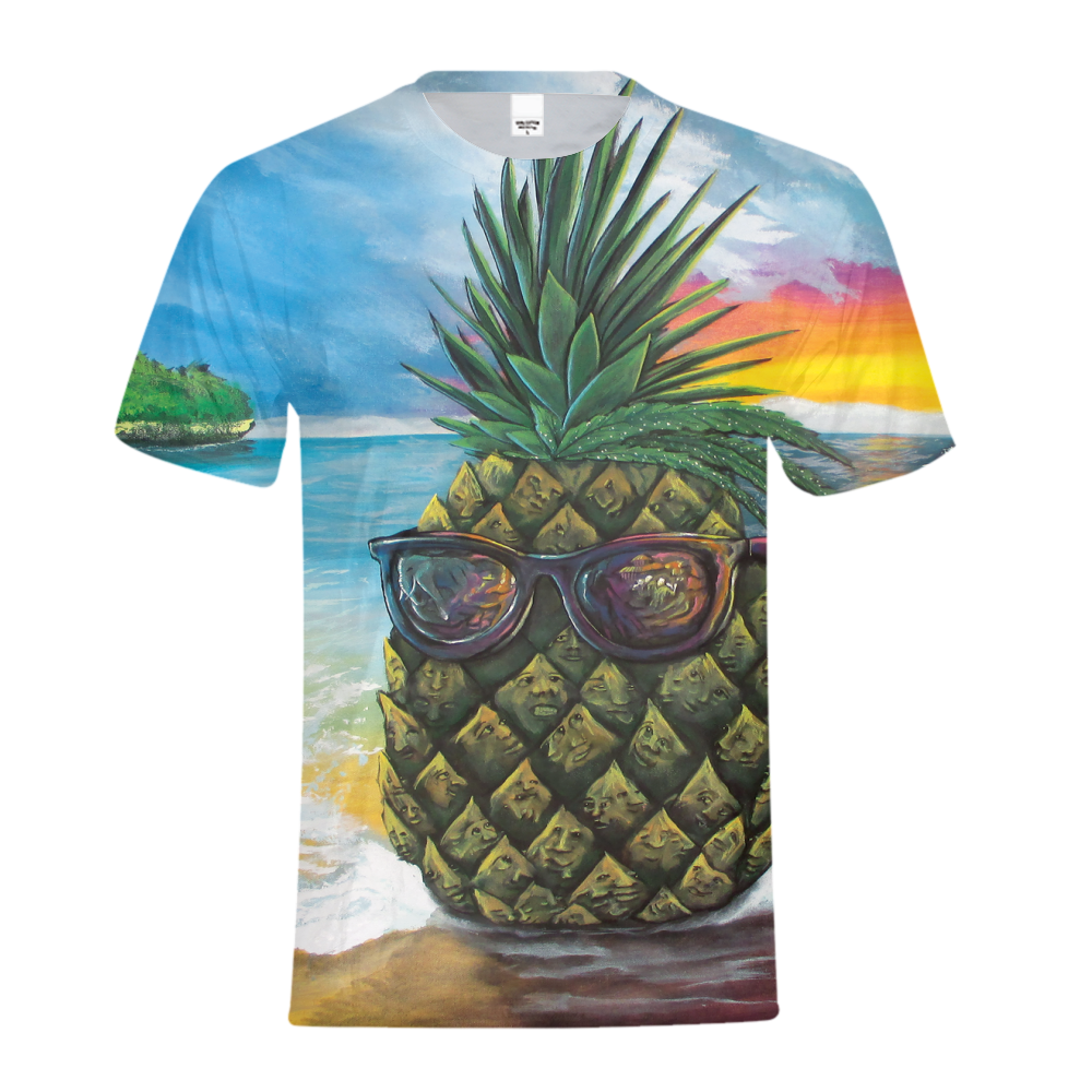 Pineapple Daze Kids Tee