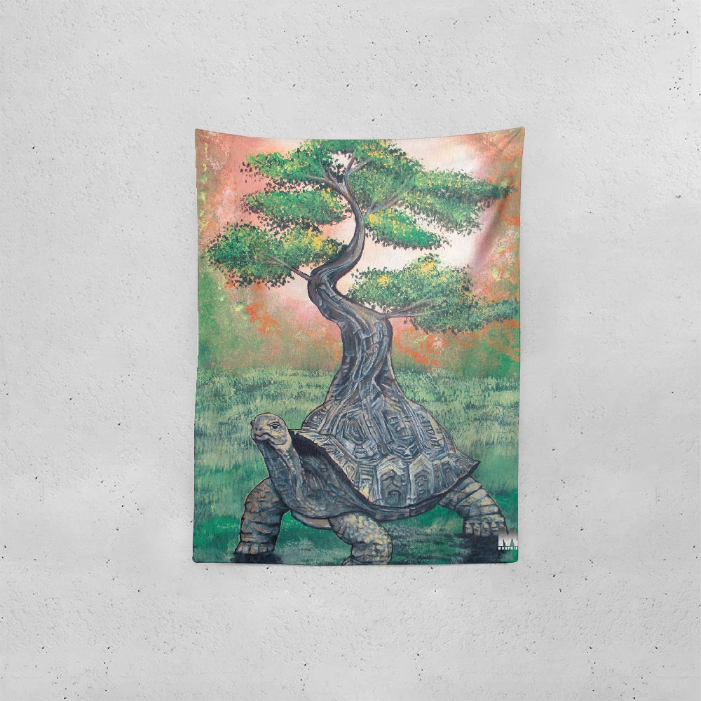 Bonsai Tortoise Tapestry 60