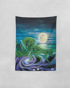 "Deep Dark and Mersiv Tapestry 60""x80"""