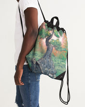 Load image into Gallery viewer, Bonsai Tortoise Canvas Drawstring Bag