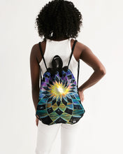 Load image into Gallery viewer, Sunrise Torus Canvas Drawstring Bag