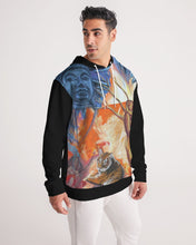 Load image into Gallery viewer, Buddah Tiger Fire Men's Hoodie
