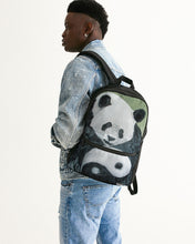 Load image into Gallery viewer, Morphed Panda Small Canvas Backpack