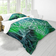 Load image into Gallery viewer, Life Balance King Duvet Cover Set