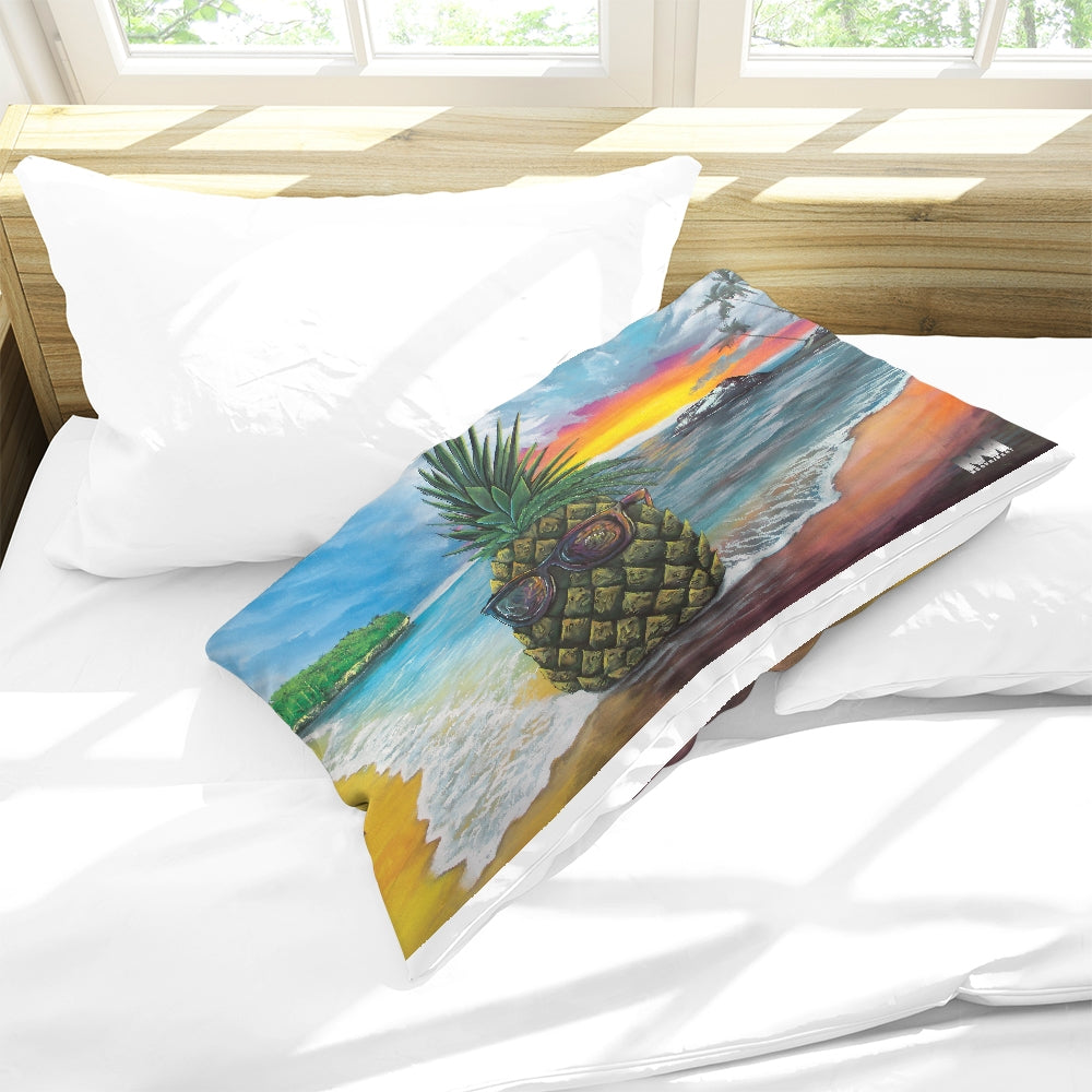 Pineapple Daze Queen Pillow Case