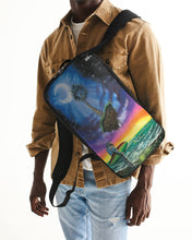 Load image into Gallery viewer, Anything Is Possible Too Slim Tech Backpack
