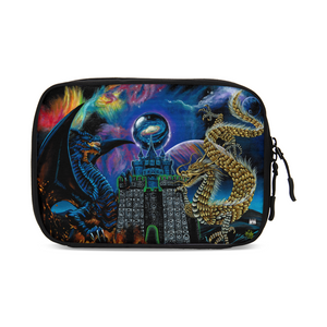 Kosmic Dragon Bass Kingdom Large Travel Organizer