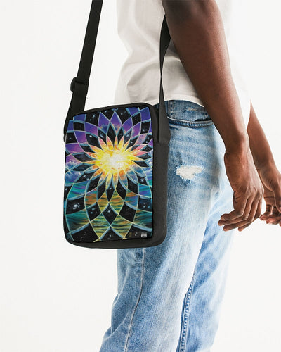 Sunrise Torus Messenger Pouch