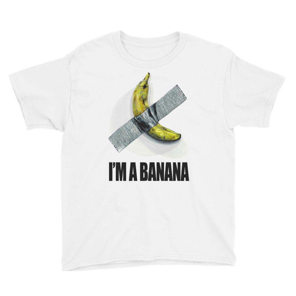 I'm a Banana Youth/Kids Short Sleeve T-Shirt