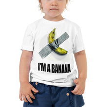 Load image into Gallery viewer, I'm a Banana Toddler Short Sleeve Tee
