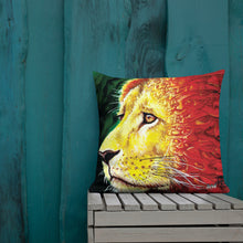 Load image into Gallery viewer, Lions Face Premium Pillow