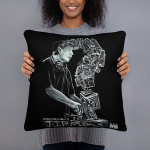 Dave Tipper Tribute Pillow