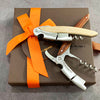 Vauzy Chassangue by Chateau Laguiole Wine Opener Gift Set - Walnut