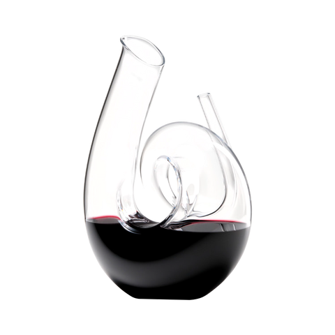 Riedel Decanter Hand-made Curly White