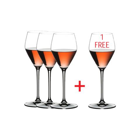 Riedel Extreme Rose Champagne / Wine (PAY 3 GET 4)