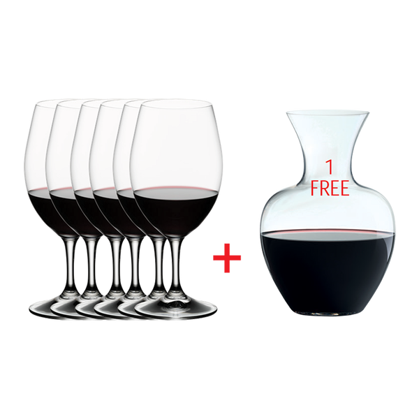 Riedel Ouverture + Gift Decanter set