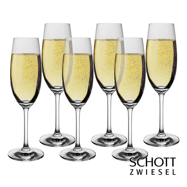 Schott Zwiesel Ivento Champagne Flutes Glass (Set of 6)
