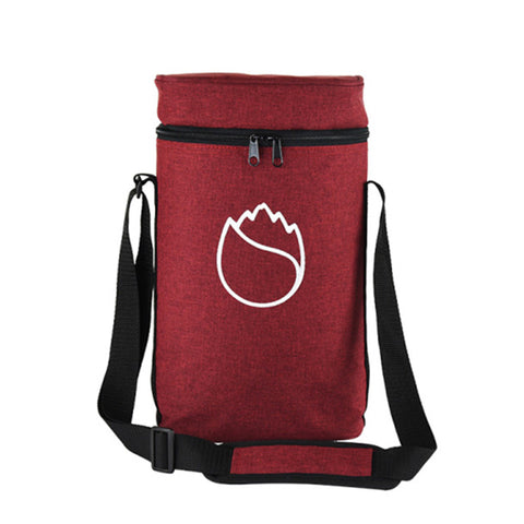 Freshore Insulated Portable Wine Bag - Red