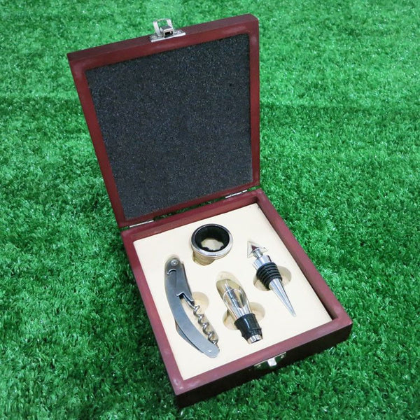 Stainless Steel Wine Opener Gift Set