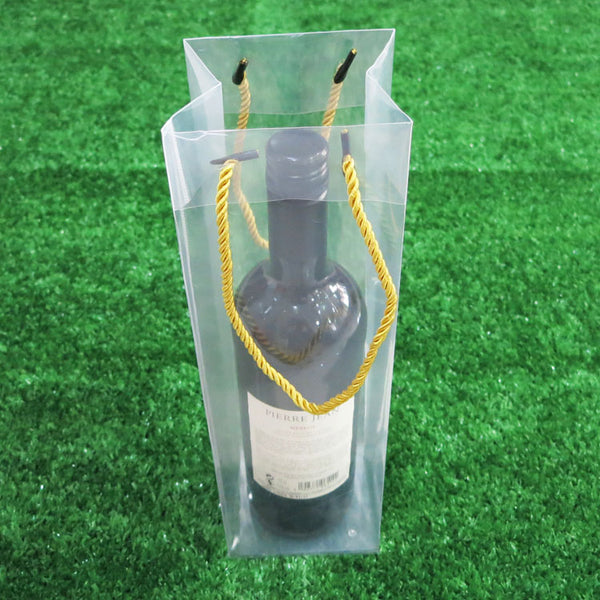 Transparent Wine Gift Carrier