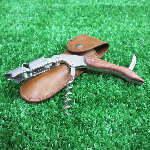 Two-Step Waiter's Corkscrews - Brown