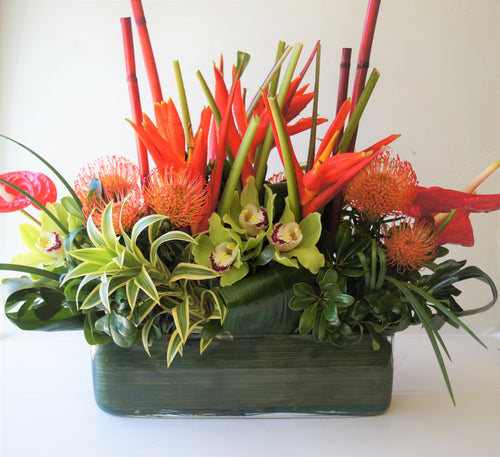 C1 - Tropical Arrangement - Flowerplustoronto