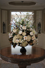 Load image into Gallery viewer, S46 - Classic White and Green Arrangement for Foyer Table - Flowerplustoronto