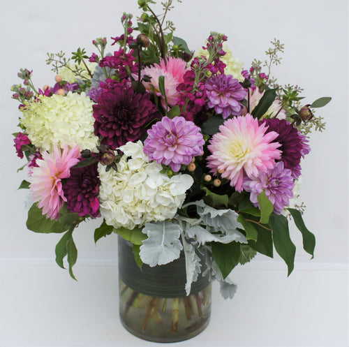 C10 - Modern Summer Arrangement - Flowerplustoronto