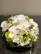 Load image into Gallery viewer, S56 - Modern White Phalaenopsis Orchid Arrangement - Flowerplustoronto