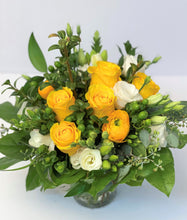Load image into Gallery viewer, F75 - White and Yellow Arrangement - Flowerplustoronto
