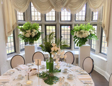 Load image into Gallery viewer, Modern White and Green Guest Centerpieces - Flowerplustoronto