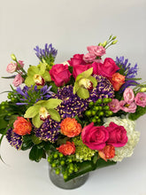 Load image into Gallery viewer, F25 - Vibrant Modern Vase Arrangement - Flowerplustoronto