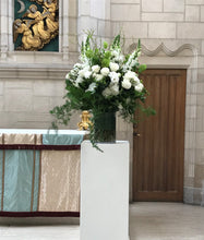 Load image into Gallery viewer, Elegant White and Green Ceremony Arrangements - Flowerplustoronto