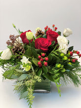 Load image into Gallery viewer, X44 - Festive Holiday Vase Arrangement - Flowerplustoronto