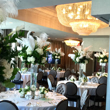 Load image into Gallery viewer, E27 - Lush White Feather Centerpieces - Flowerplustoronto