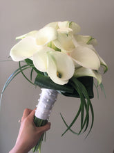Load image into Gallery viewer, Modern Calla Lily Bridal Bouquet - Flowerplustoronto