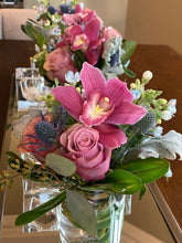 Load image into Gallery viewer, E12 - Roses and Cymbidium Orchids Centerpieces - Series Design - Flowerplustoronto