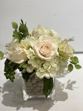 Load image into Gallery viewer, S25 - Classic White and Ivory English Garden Arrangement - Flowerplustoronto