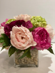 S30 - Peony Arrangement - Flowerplustoronto