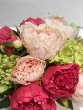 Load image into Gallery viewer, S29 - Light Pink and Raspberry Peony Arrangement - Flowerplustoronto