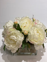 Load image into Gallery viewer, S33 - Modern White Peony Centerpiece - Flowerplustoronto